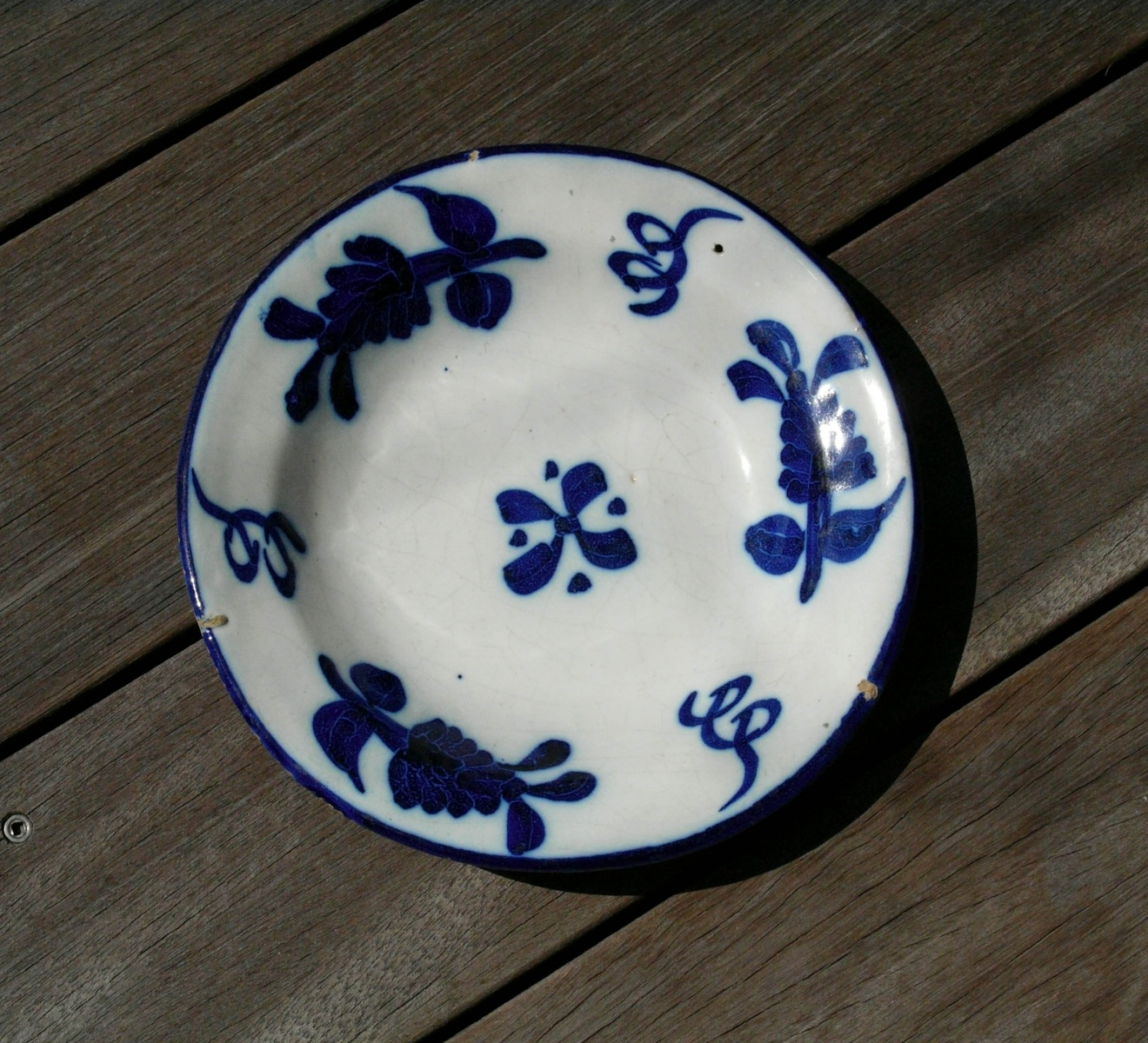 イラン 藍彩陶皿 | ラントマン ...